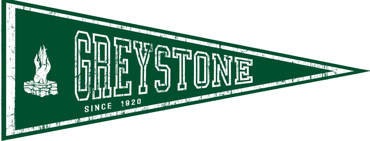 Picture of Felt Pennant - Greystone