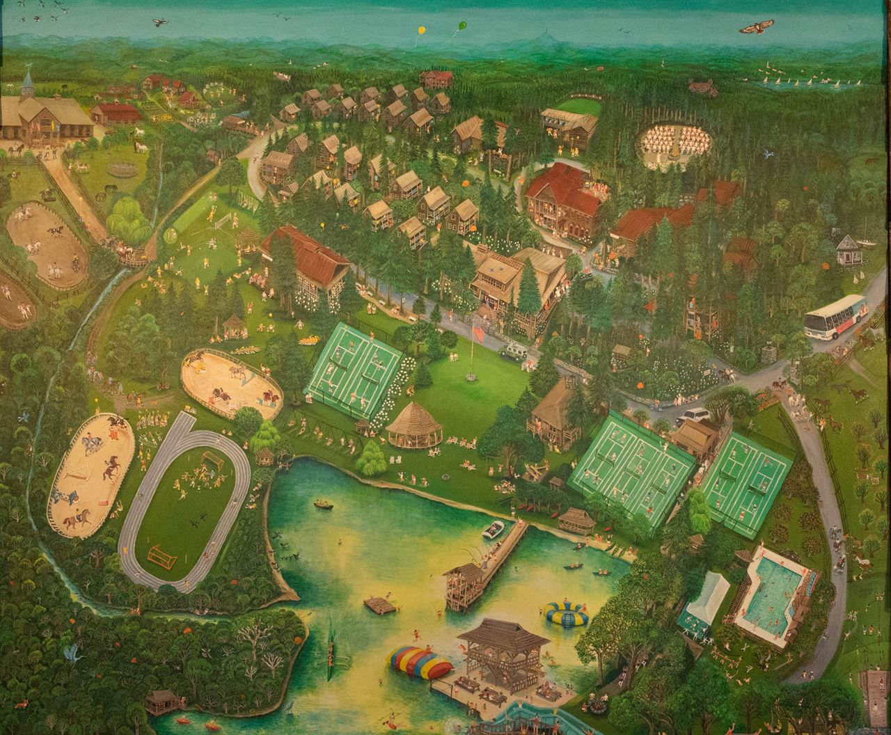 Picture of Greystone Mural Print