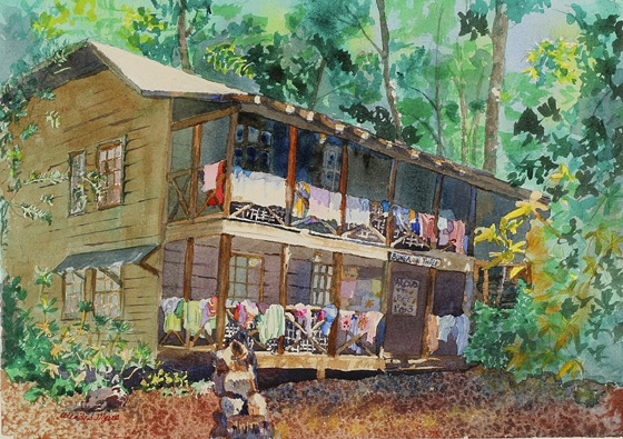 Picture of Wendy Myers Print - Bungalow 3