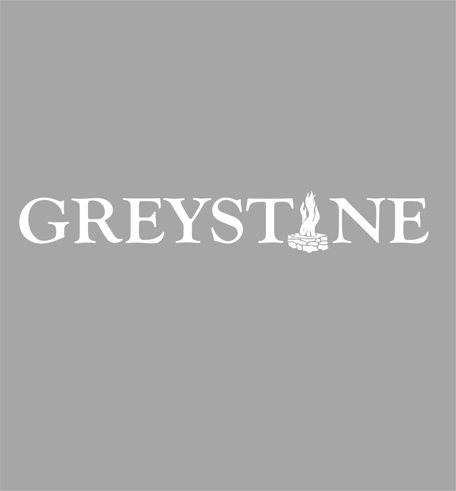 Picture of Greystone with Fire Vinyl Decal