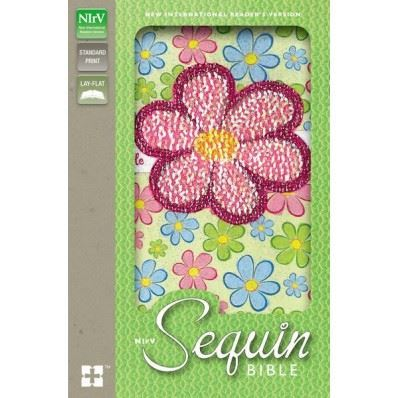 Picture of Sequin Bible - Fun Flower