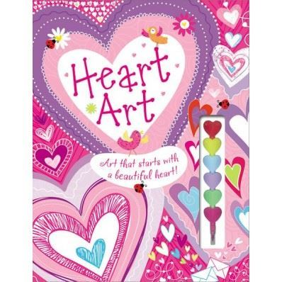 Picture of Heart Art Doodle & Coloring Book