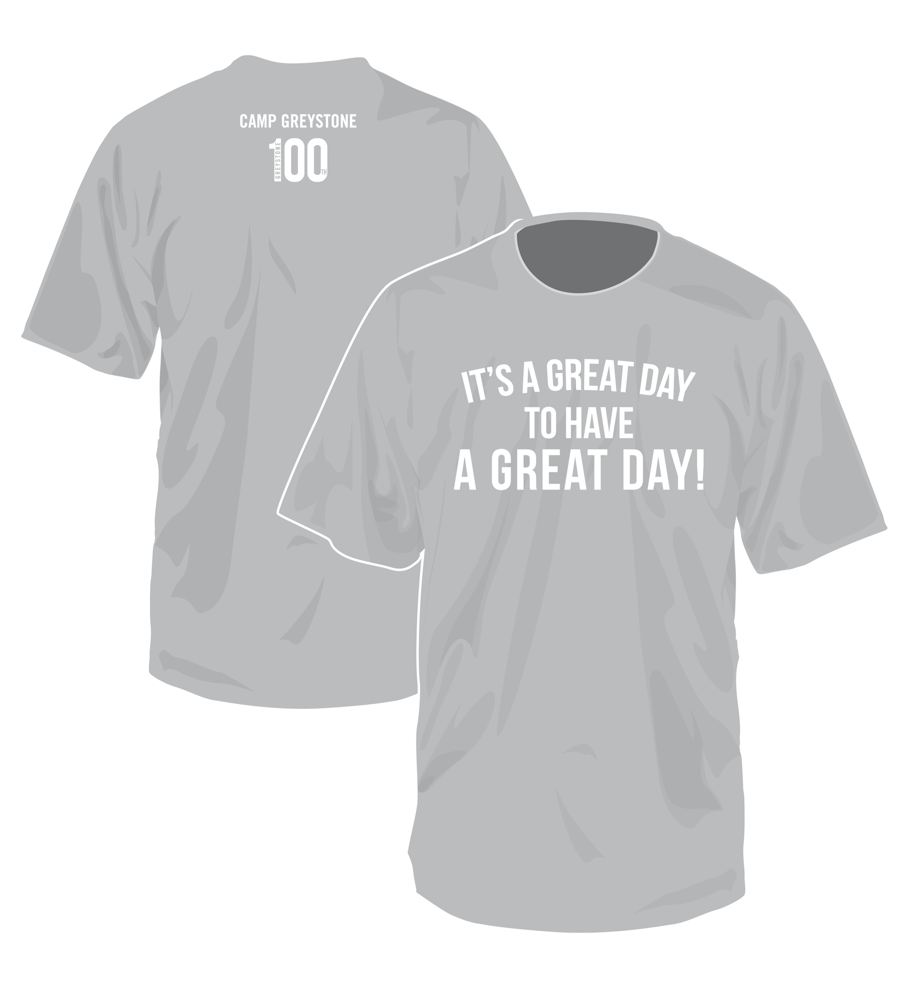 Picture of It's A Great Day Tee Shirt, 100th yr