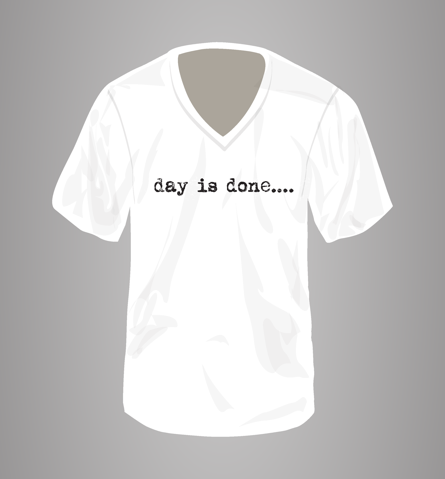 Picture of Day is Done Sleep Shirt