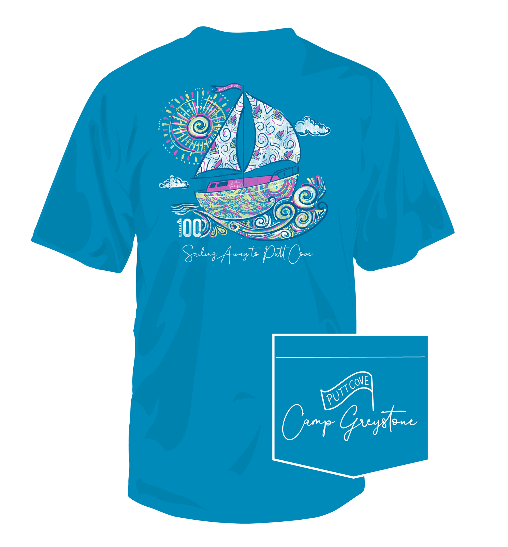 Picture of Sailing Program Shirt 2019 - YOUTH MED only