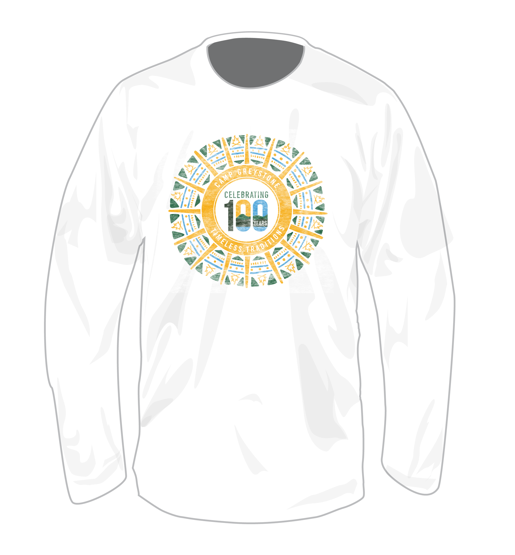 Picture of Celebrating 100 Years Timeless Tradition long sleeve T-Shirt - ADULT