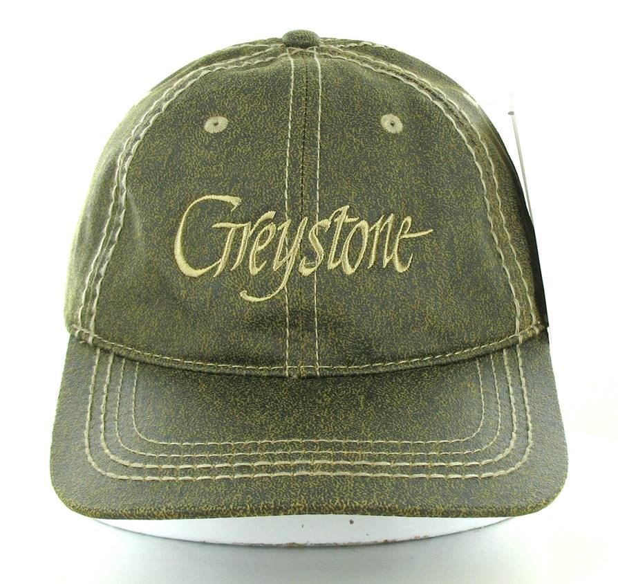 Picture of Faux Leather Greystone Cap