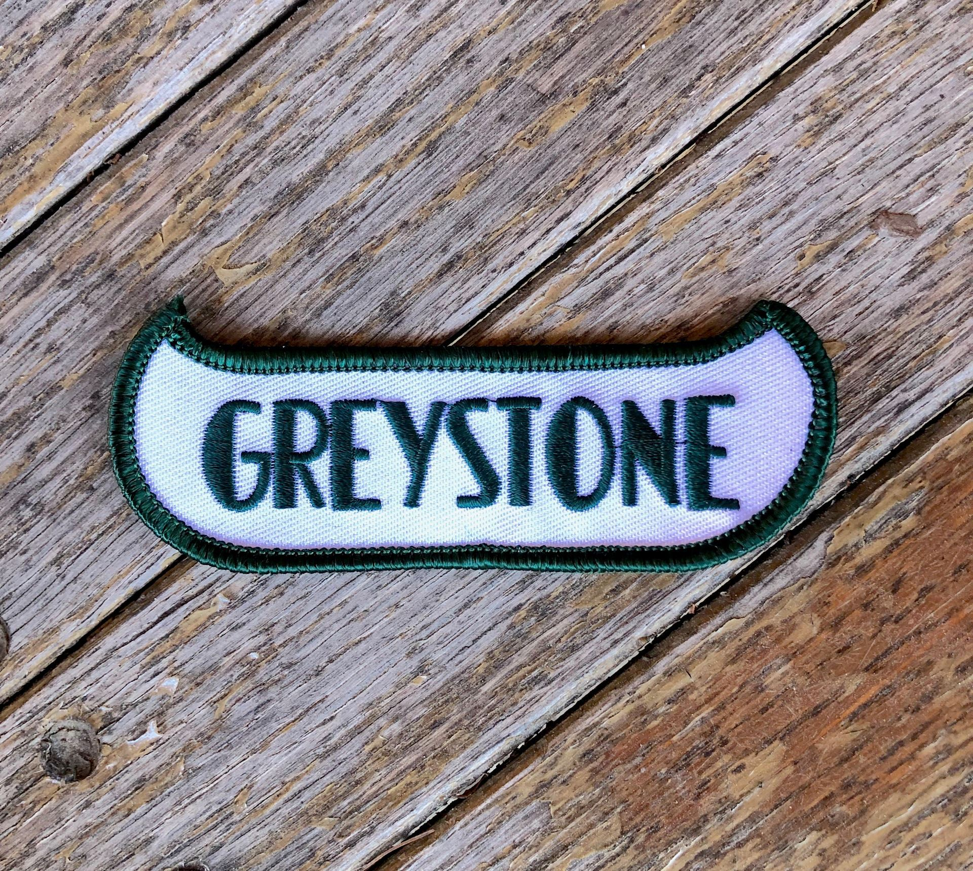 Picture of Vintage Greystone Canoe Patch
