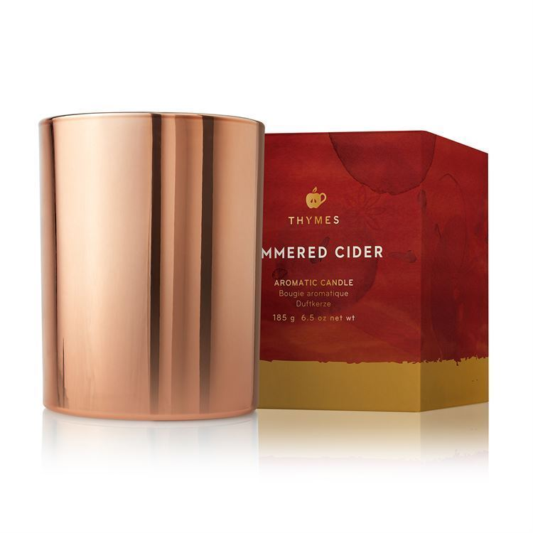 Picture of Thymes Simmered Cider Poured Candle