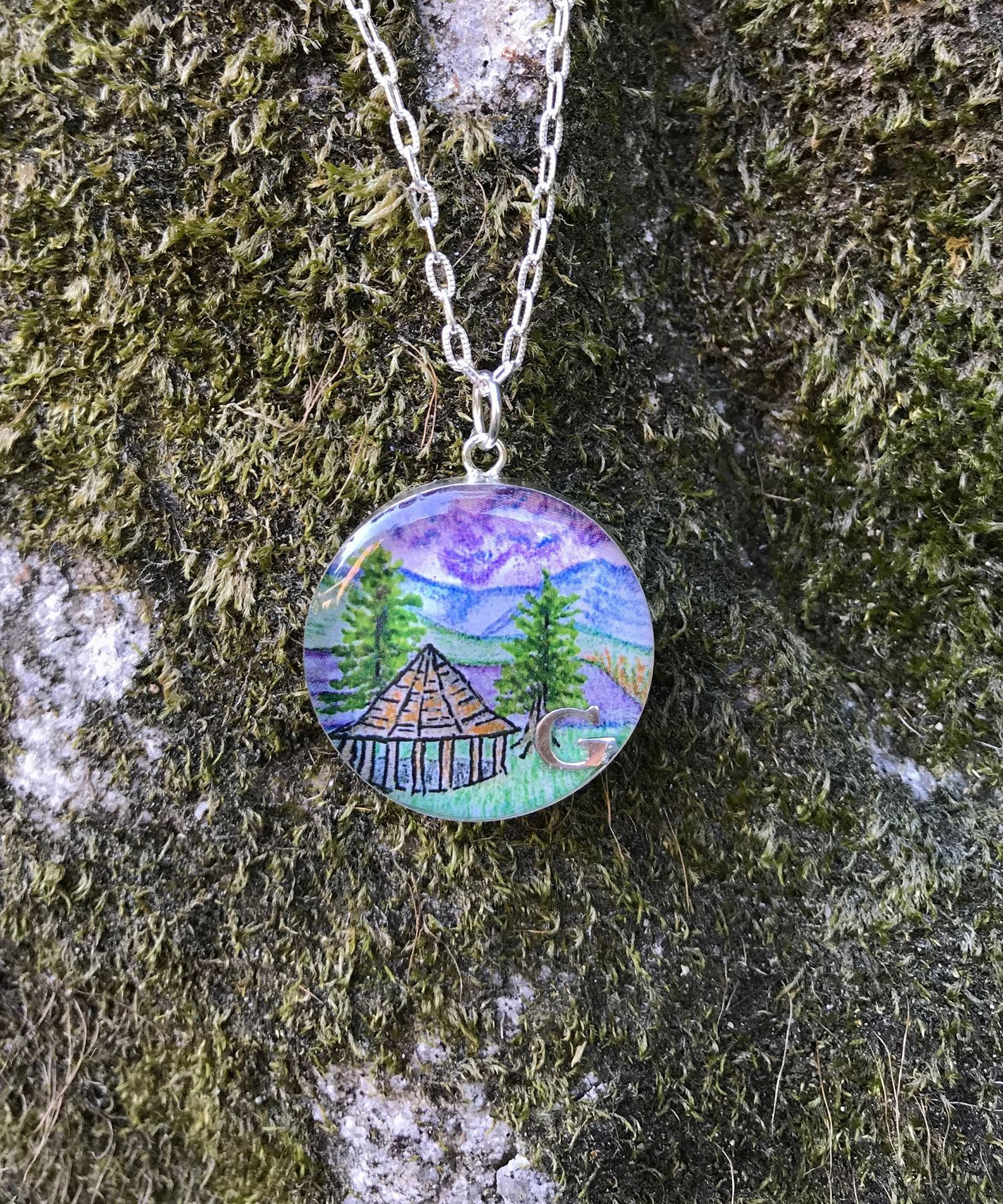 Picture of Shepherd's Gazebo/Summer Charm Necklace