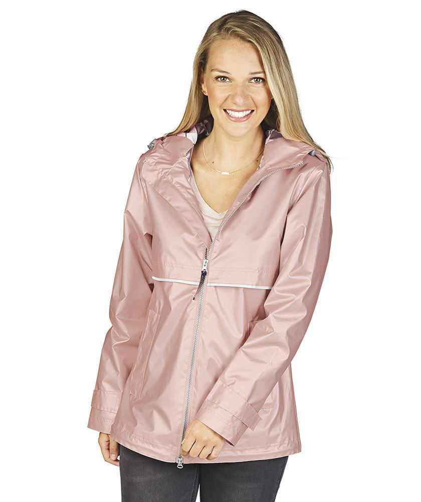 Picture of New Englander Printed Lining Rain Jacket - Adult
