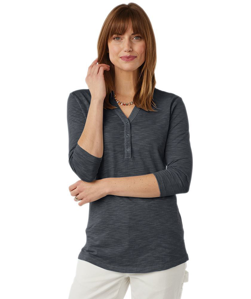 Picture of Freetown Henley, Adult - 3 colors