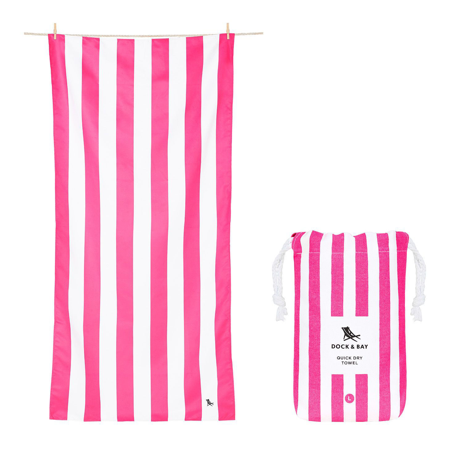 Picture of Striped Quick Dry Towels, XL