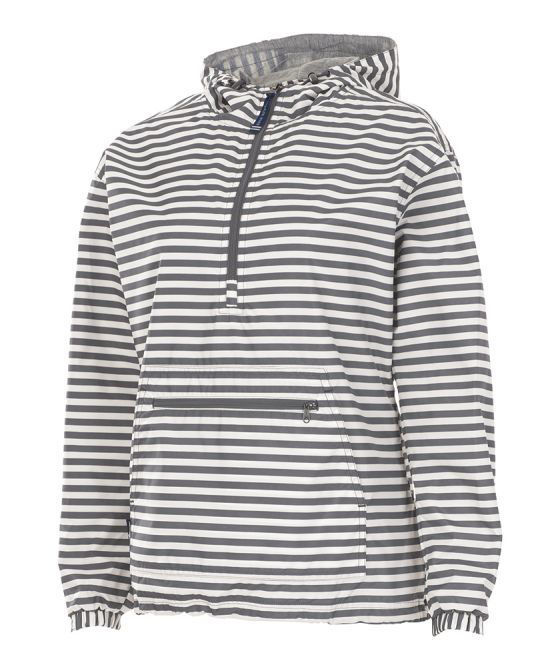 Picture of Chatham Anorak Striped Rain Pullover - Adult