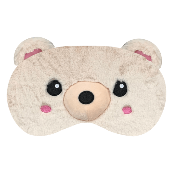 Picture of Furry Bear Eye Mask