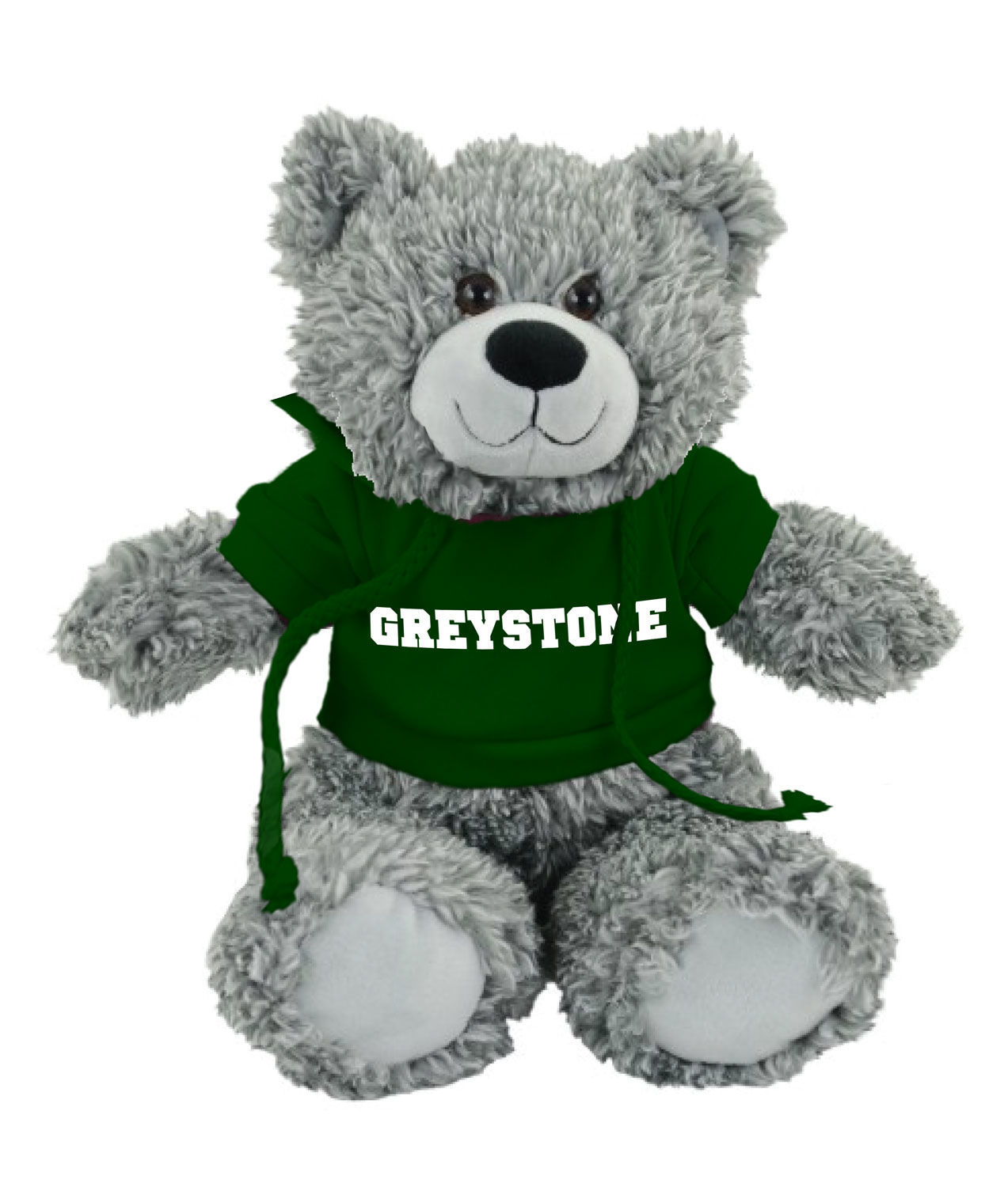 Picture of Bodie Grey Bear, Green Shirt
