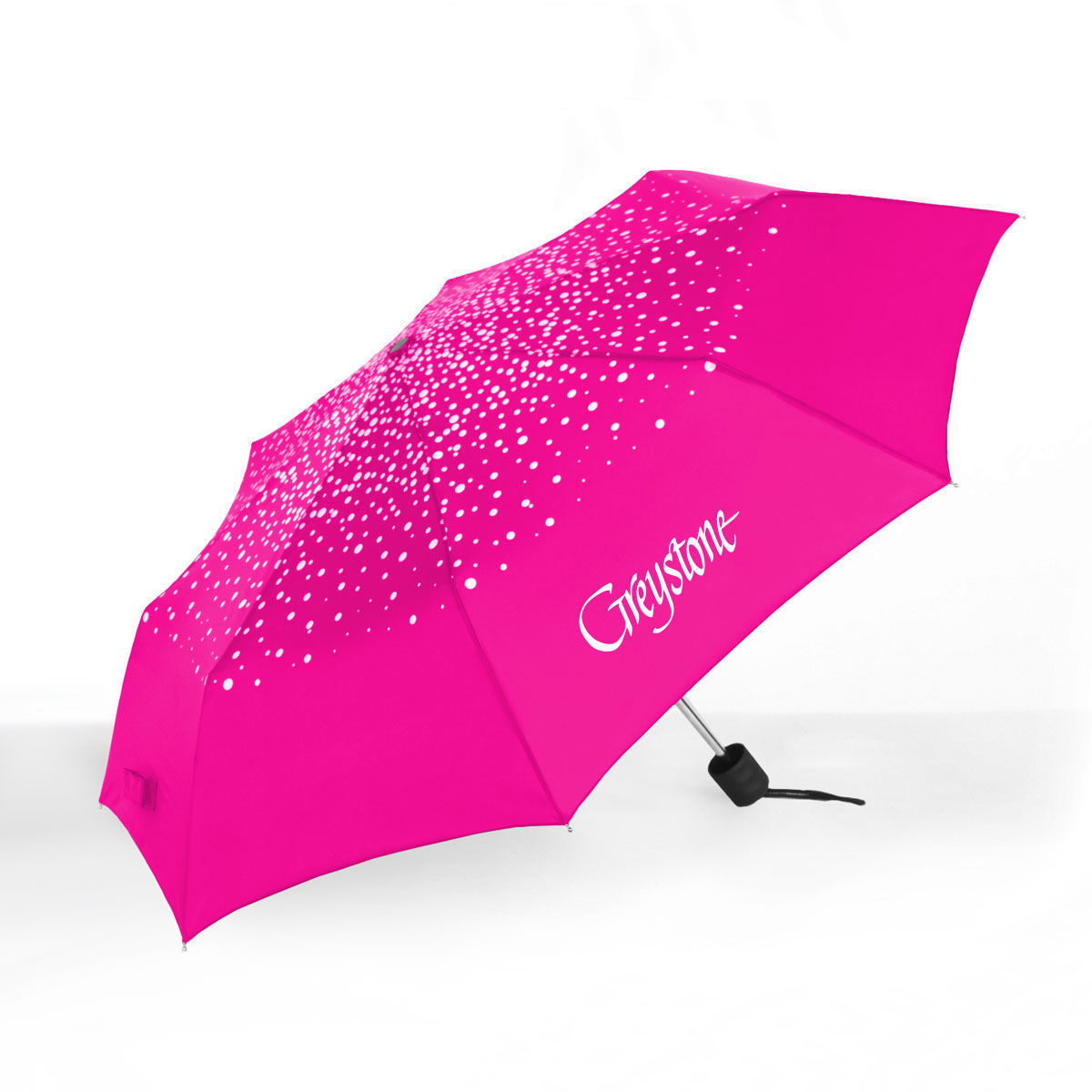Picture of Mini-Compact Dots Umbrella, Hot Pink