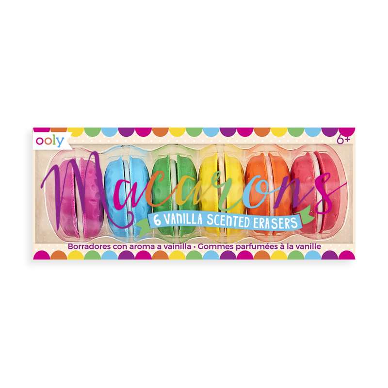Picture of Macaroon Pencil Erasers