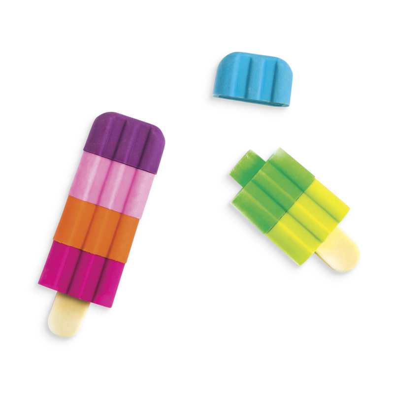Picture of Icy Pops Scented Pencil Erasers