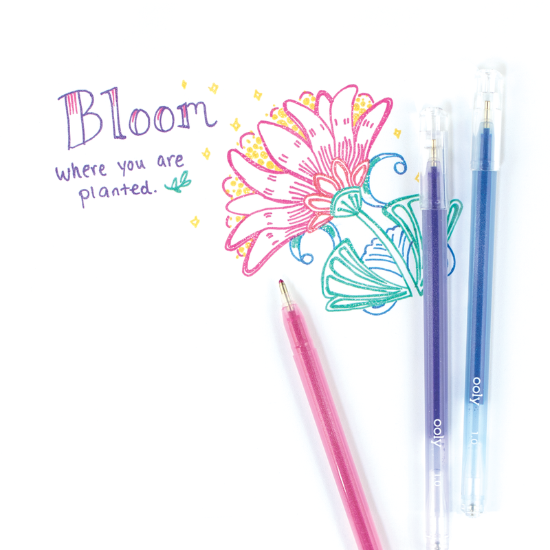 Picture of Radiant Writers Glitter Gel Pens
