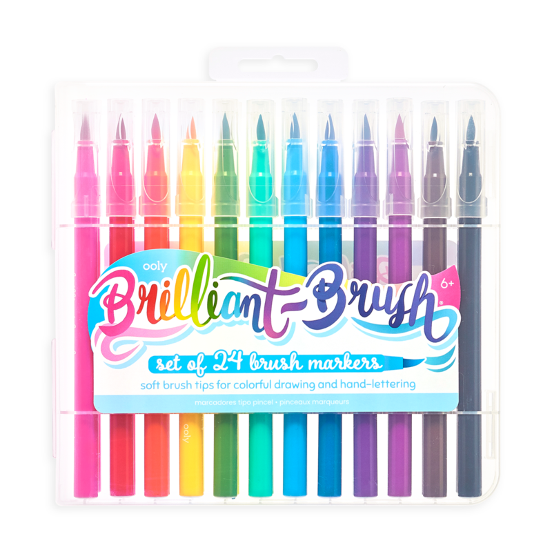 Picture of Brilliant Brush Markers - 24 Pack