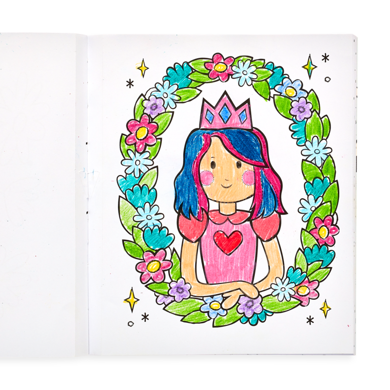 Picture of Princess & Fairies Coloring Book