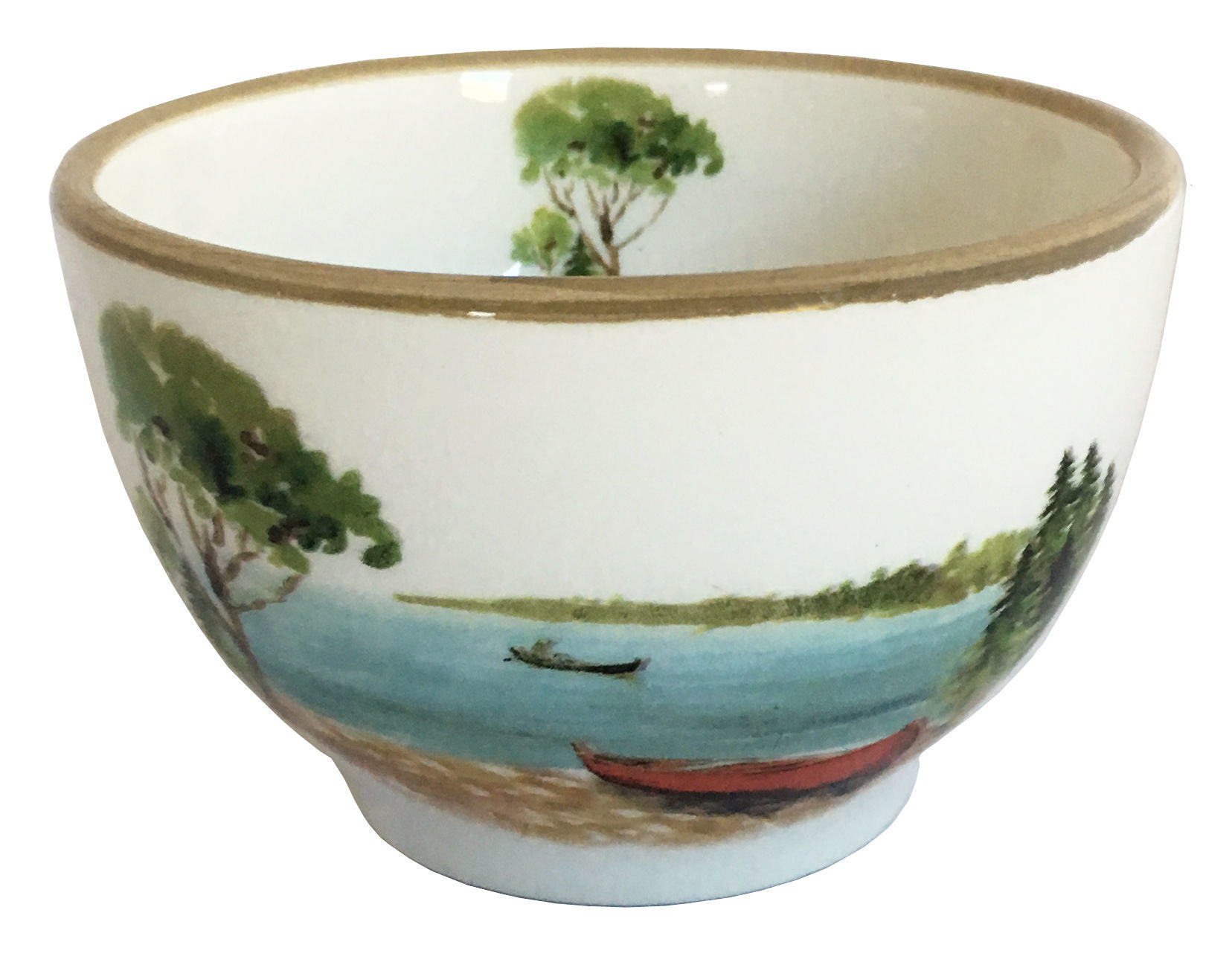 Picture of Canoe Dipping Bowl