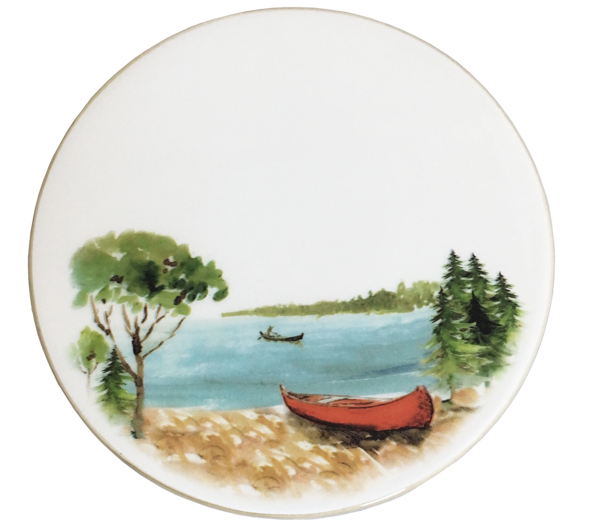 Picture of Canoe Cheese Board/Trivet