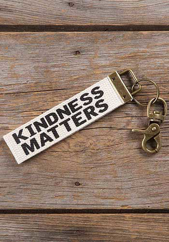 Picture of Kindness Matters Canvas Key Fob/Backpack Charm
