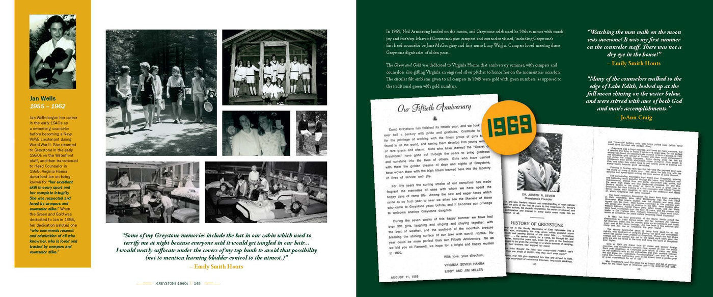 Picture of Camp Greystone: Celebrating 100 Years Hardcover Book