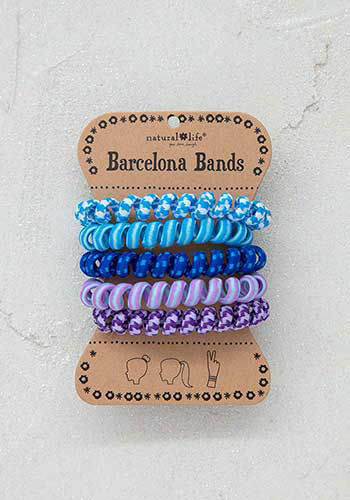 Picture of Barcelona Paracord Hair Bands - 3 colors
