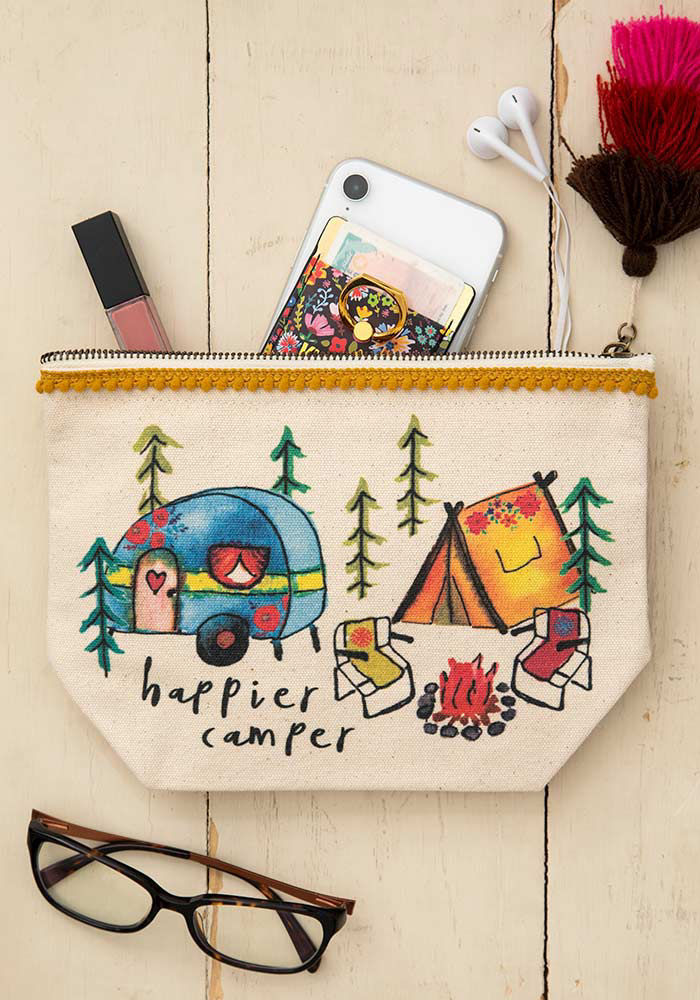 Picture of Natural Life Canvas Pouch - 3 styles