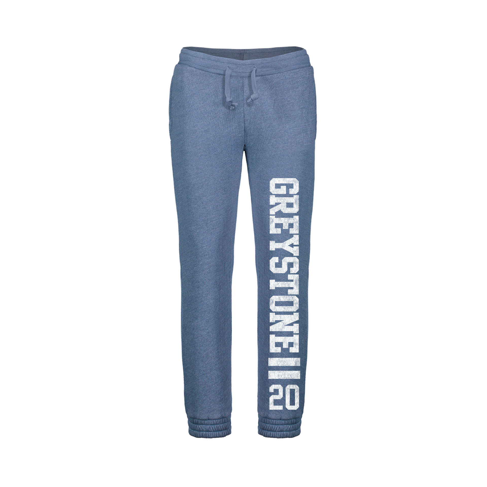 Picture of Jordan Angel Fleece Joggers- Stonewash Blue