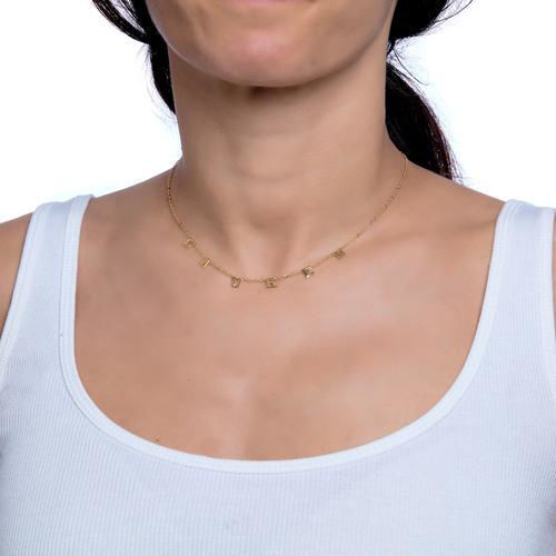Picture of Greystone Dangle Necklace