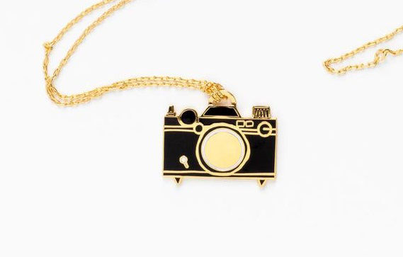 Picture of Camera Cloisonne' Pendant