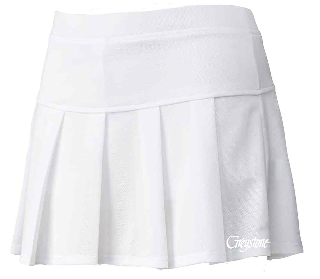 Picture of Youth Tennis Skort - White
