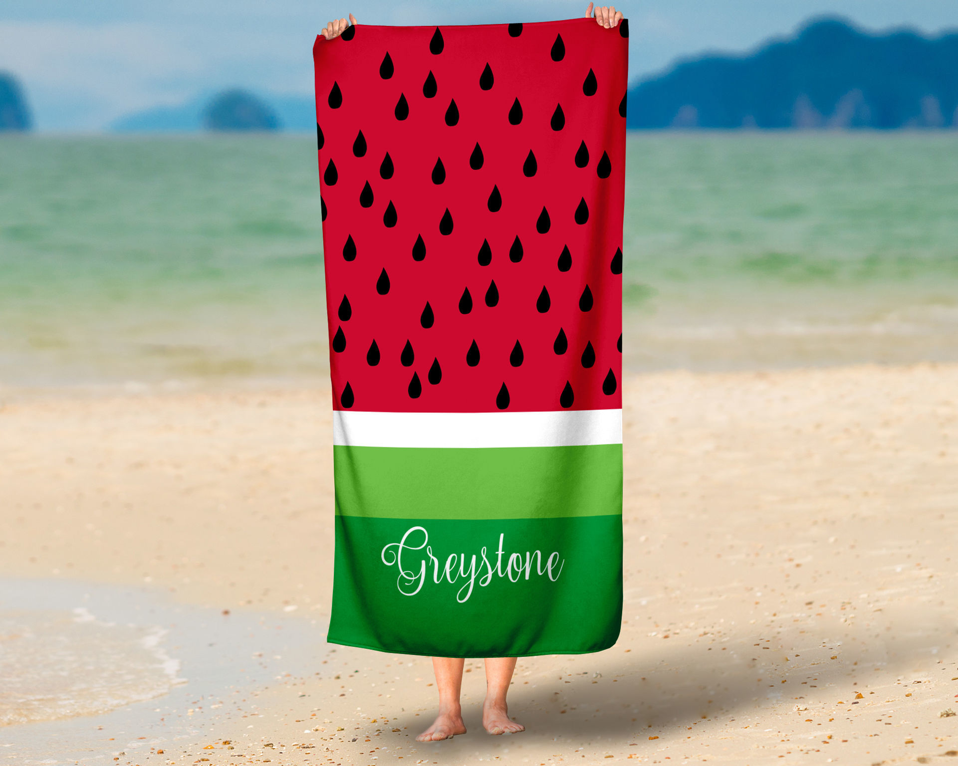 Picture of Watermelon Oversized Beach Towel
