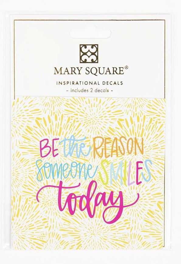 Picture of Be the Reason Someone Smiles Today Decal Sticker Set