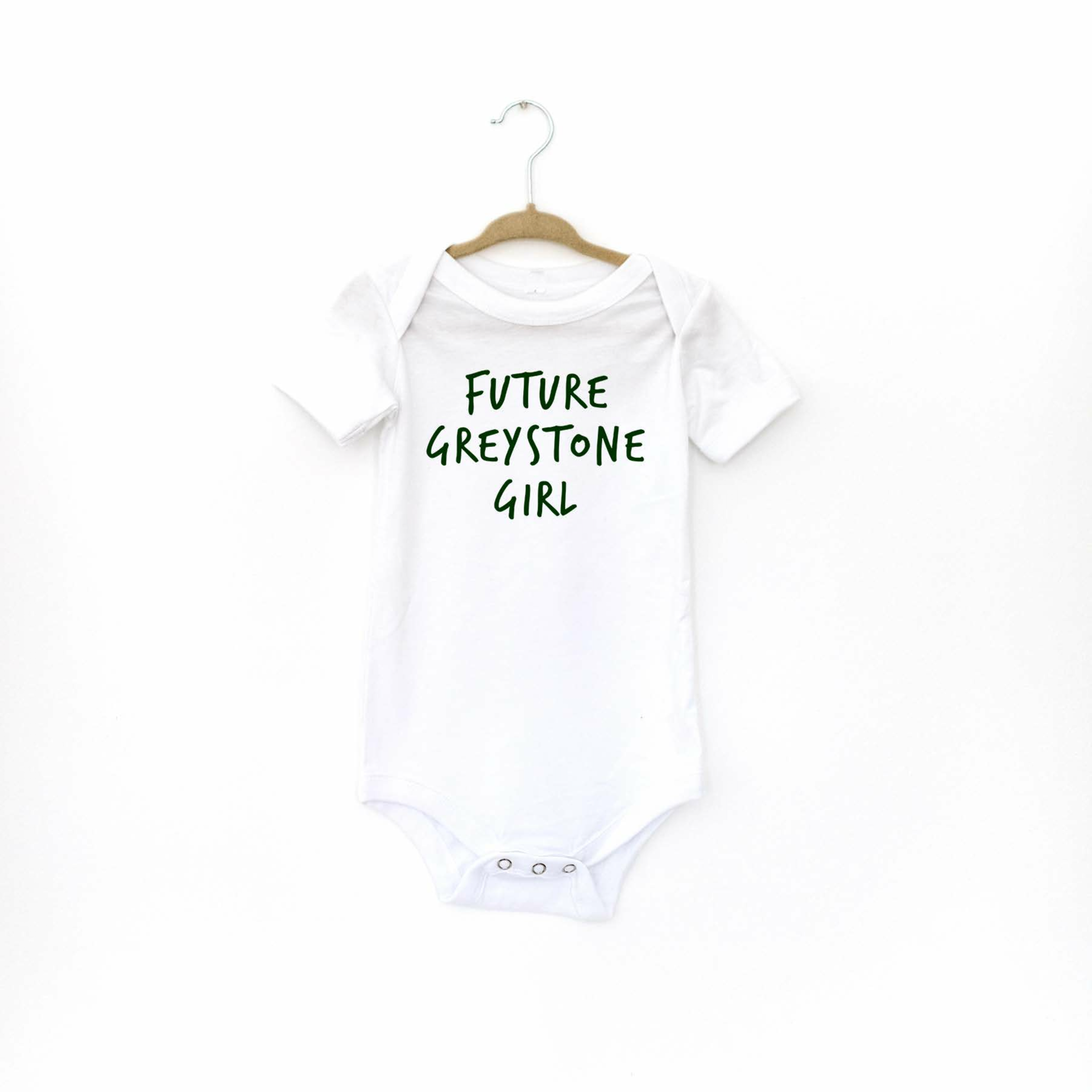 Picture of Future Greystone Girl Baby Onesie