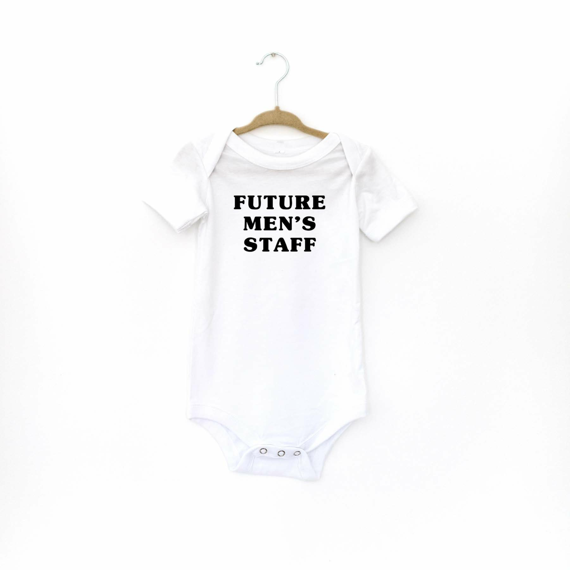 Picture of Future Men's Staff Baby Onesie