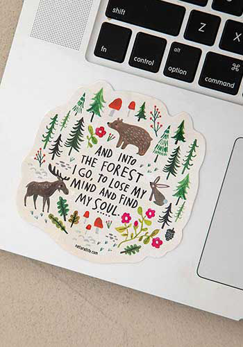 Picture of Into the Forest Decal Sticker