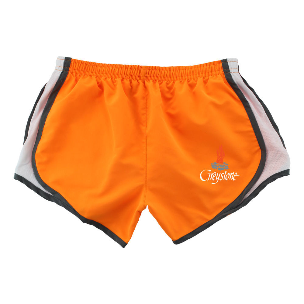 Picture of Youth Mandarin/Grey Velocity Shorts