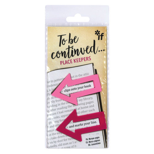 Picture of To Be Continued... Bookmarks/Place Keepers - Pink