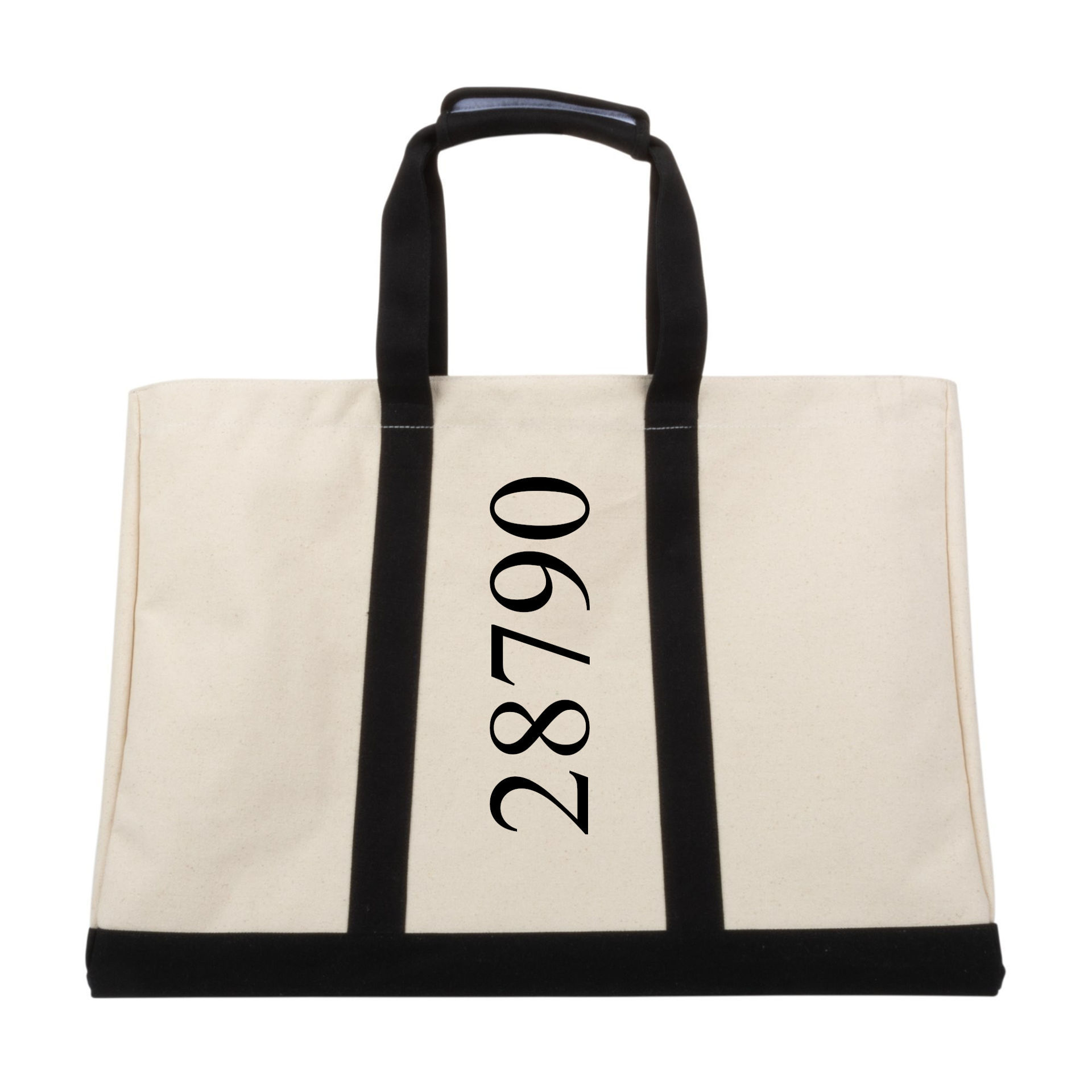 "Picture of Canvas Big Tote, 24"" long x 12"" wide x 18"" tall"
