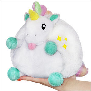 Picture of Mini Baby Unicorn Plush Pillow, 7""