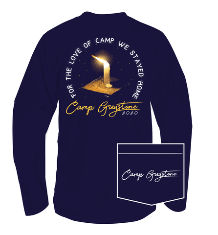 Picture of For the Love of Camp We Stayed Home 2020 - Long Sleeve