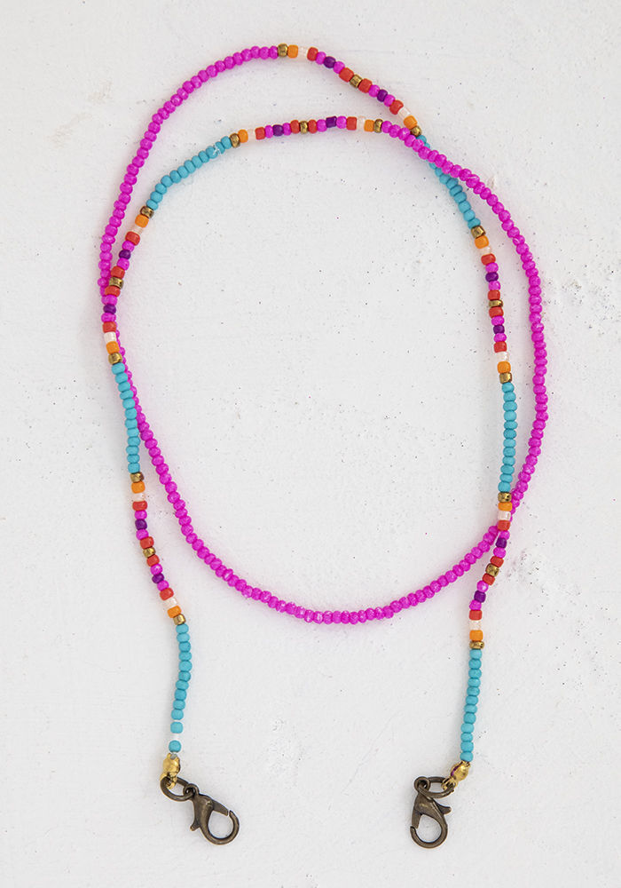Picture of Mask Lanyard - Multi Beaded
