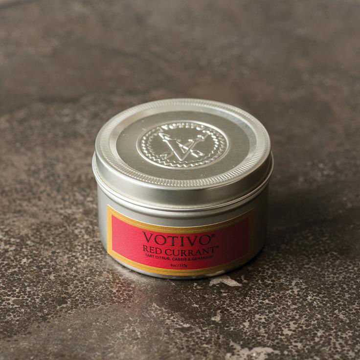 Picture of Votivo Red Currant 4 oz. Travel Tin