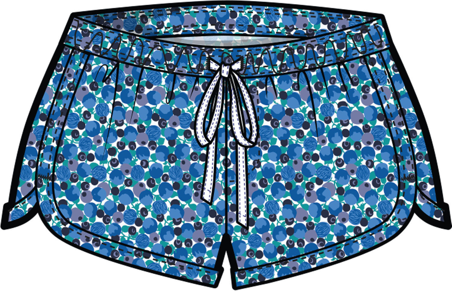 Picture of Berry Lounge Shorts