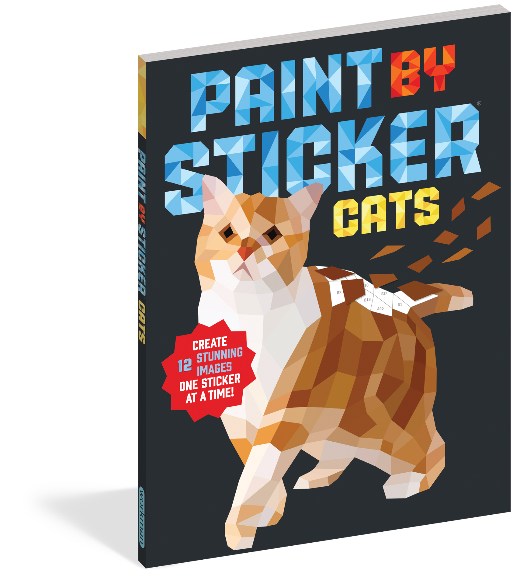 Picture of Paint By Sticker - Cats